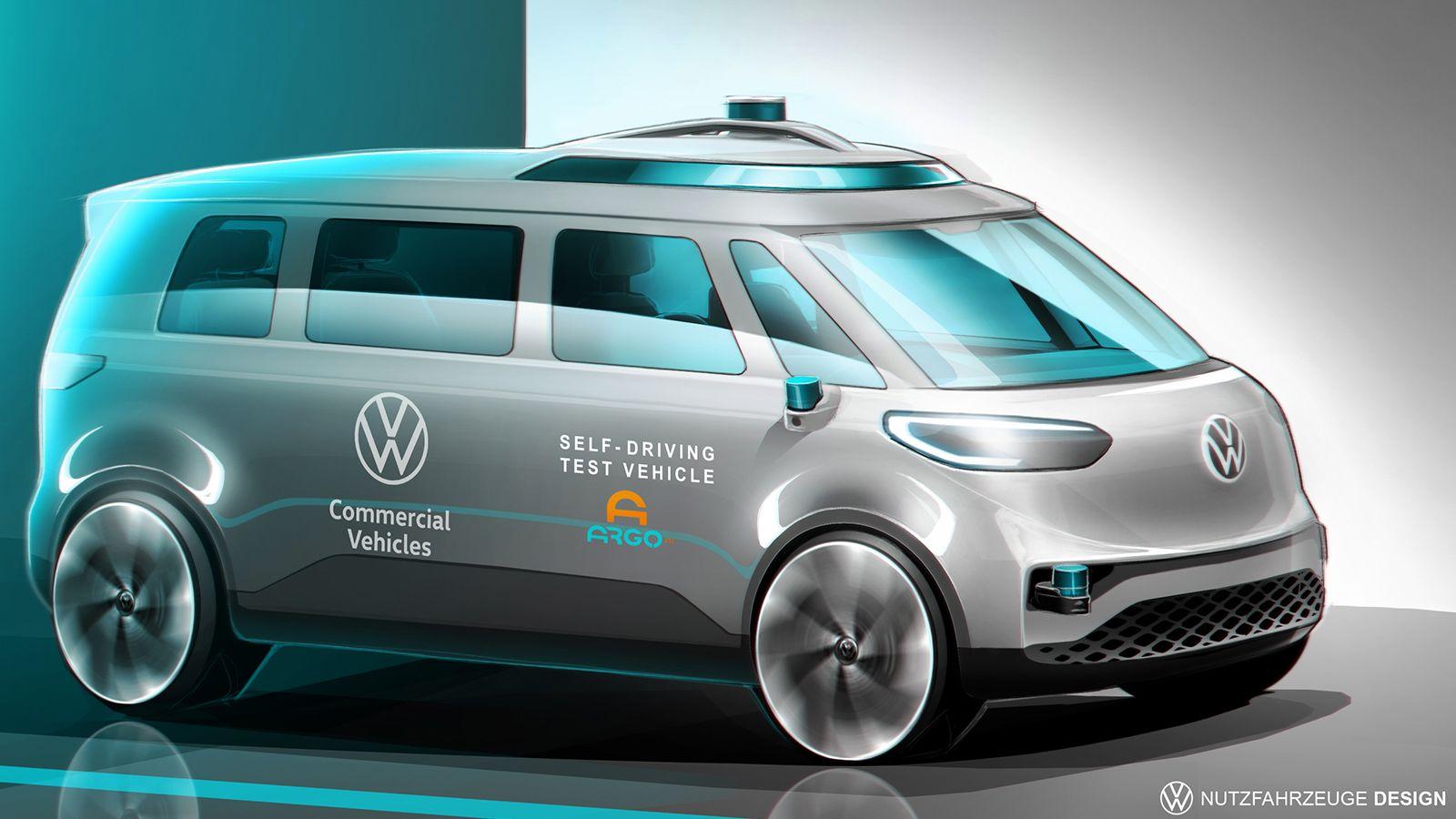Volkswagen: Από το 2025 στους δρόμους το αυτόνομο ID.Buzz