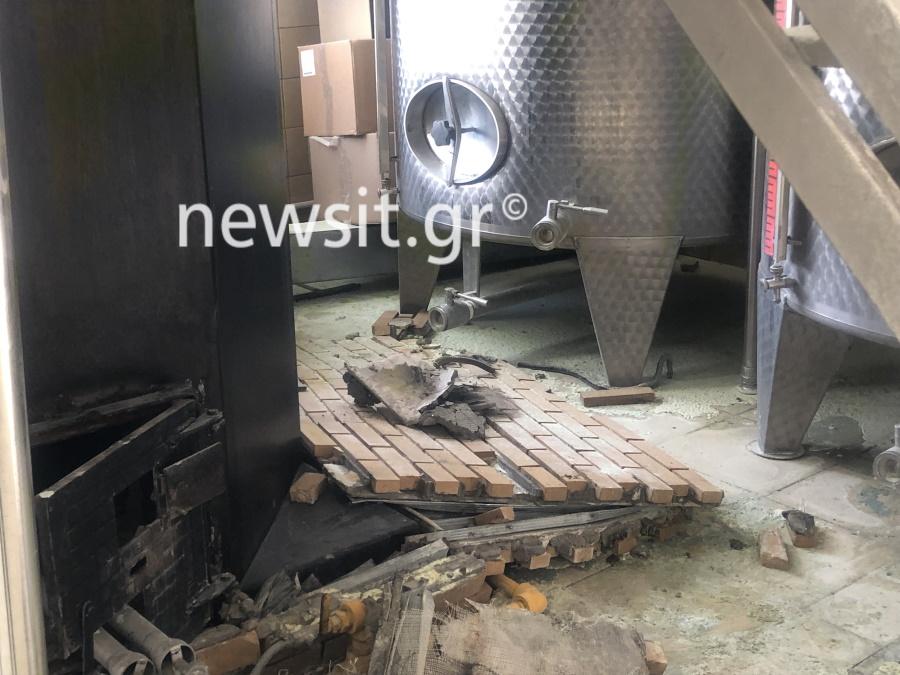 image00003 - Εικόνες από την έκρηξη στο αποστακτήριο του Τυρνάβου (φωτο-βίντεο)