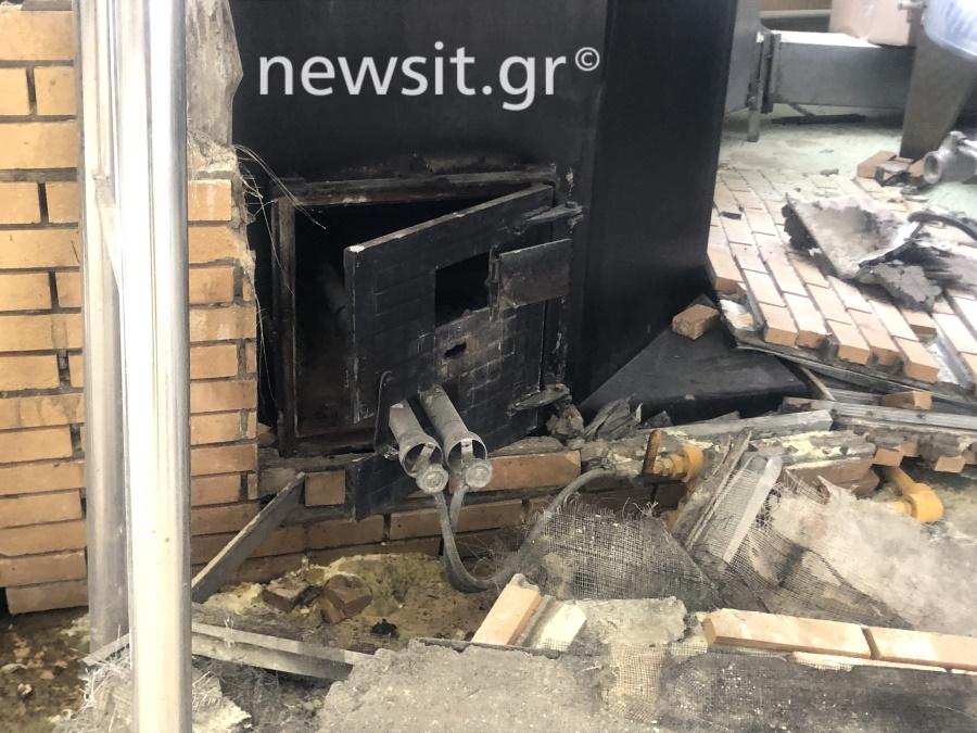 image00004 - Εικόνες από την έκρηξη στο αποστακτήριο του Τυρνάβου (φωτο-βίντεο)