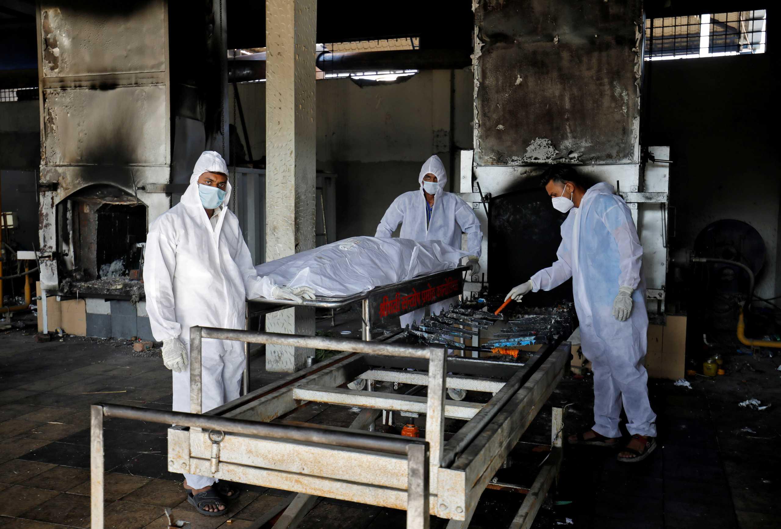 Ινδία: 542 νεκροί από κορονοϊό και 38.949 κρούσματα το τελευταίο 24ωρο