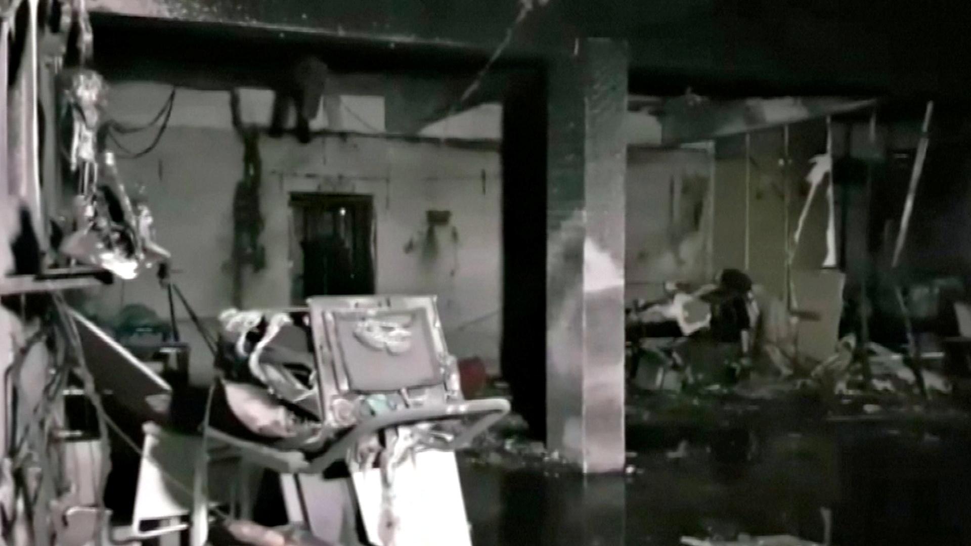 Ινδία: Φωτιά σε ΜΕΘ covid νοσοκομείου – Κάηκαν ζωντανοί 16 ασθενείς (pics)