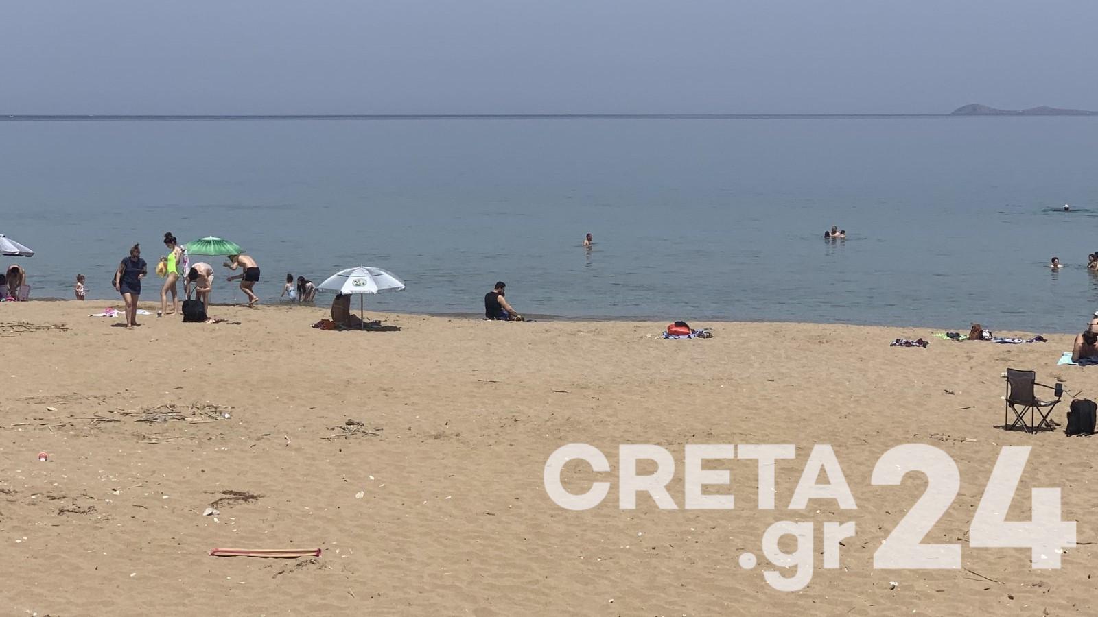 Καιρός: «Τρέλες» της θερμοκρασίας στο Ηράκλειο! Διαφορά 15 βαθμών σε… 5 χλμ απόσταση (pics)