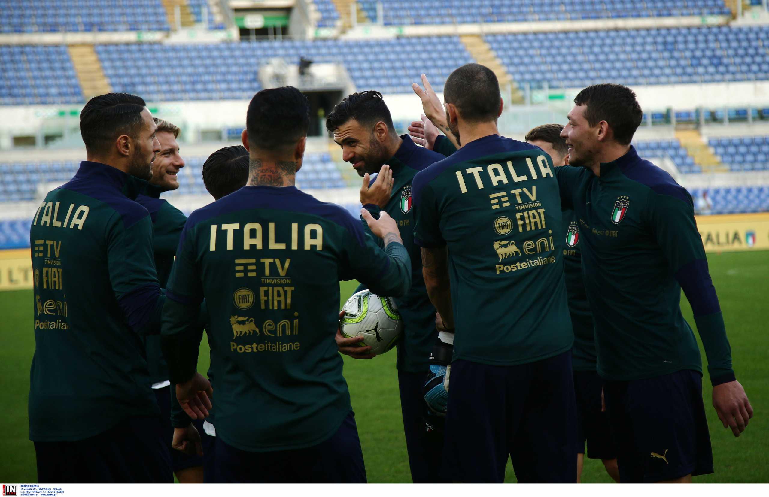 Euro 2020: Αυτή είναι η προεπιλογή της Εθνικής Ιταλίας