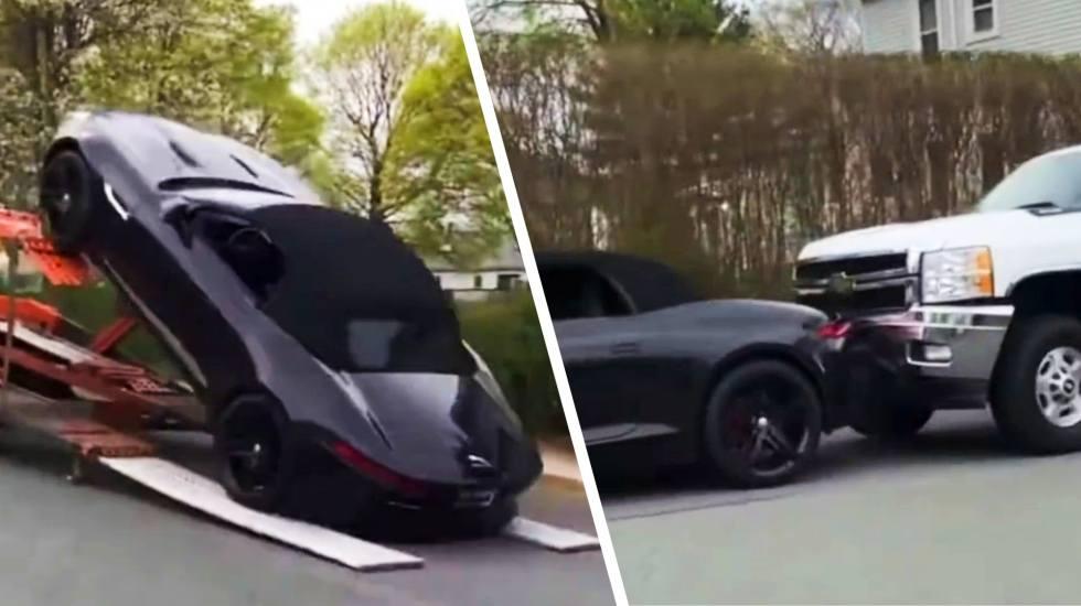 Δεν παραδίδεις με αυτό τον τρόπο μια καινούργια Jaguar F-Type στον ιδιοκτήτη της! (video)