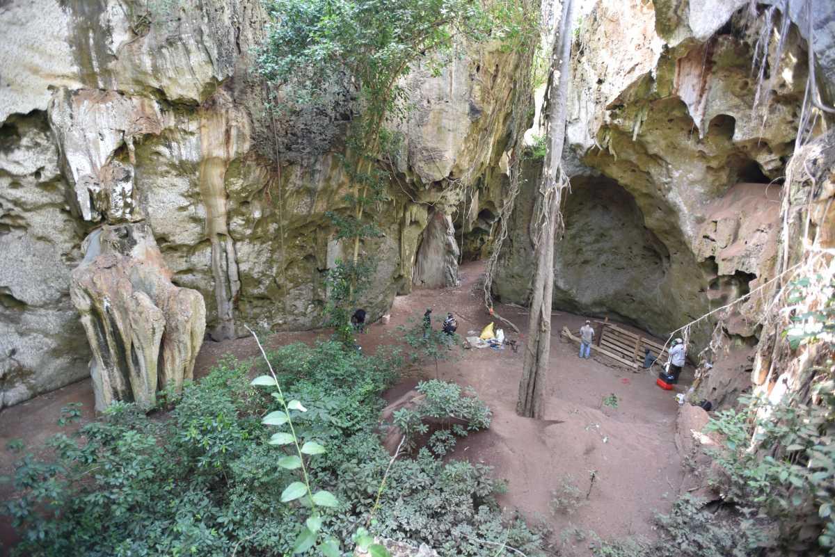 νήπιο τάφος Κένυα