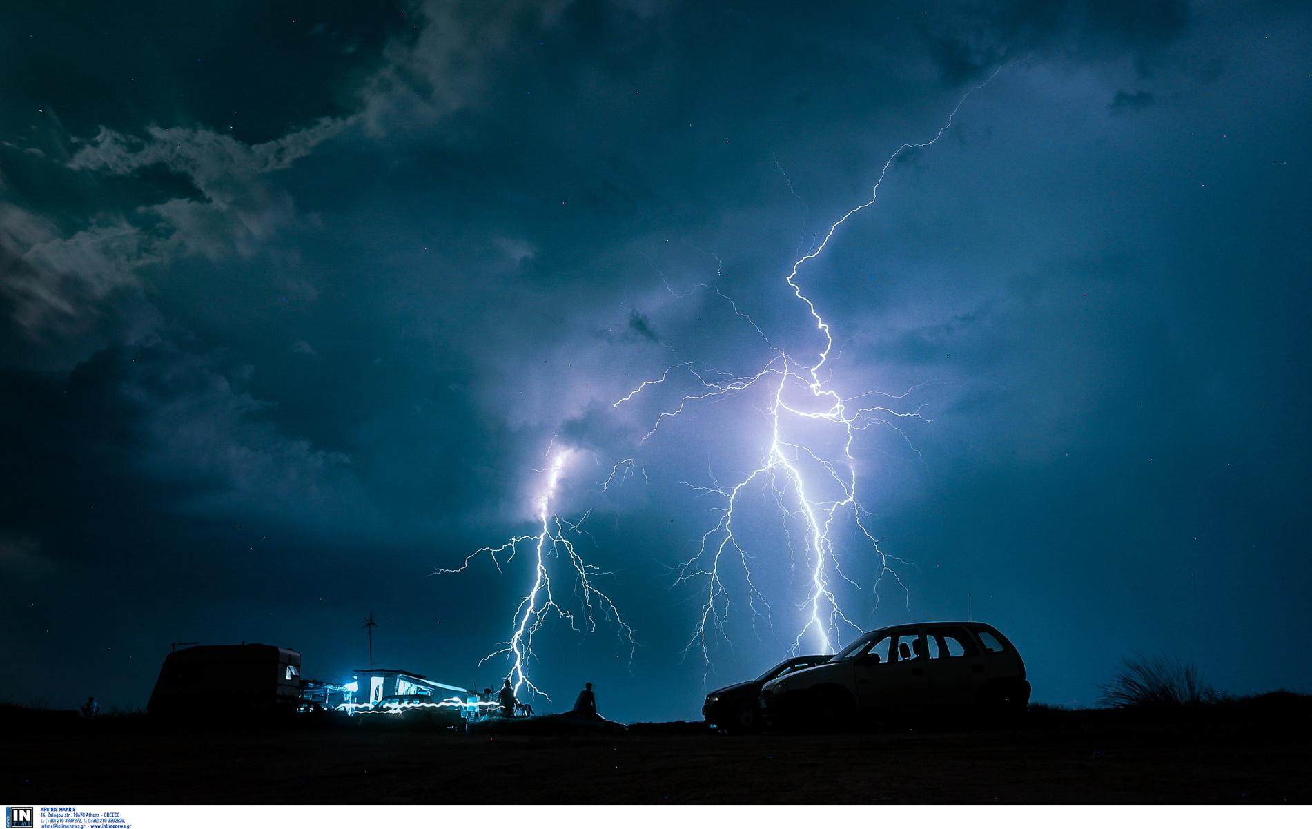 Καιρός αύριο: Φεύγει ο Μάης με βροχές και καταιγίδες
