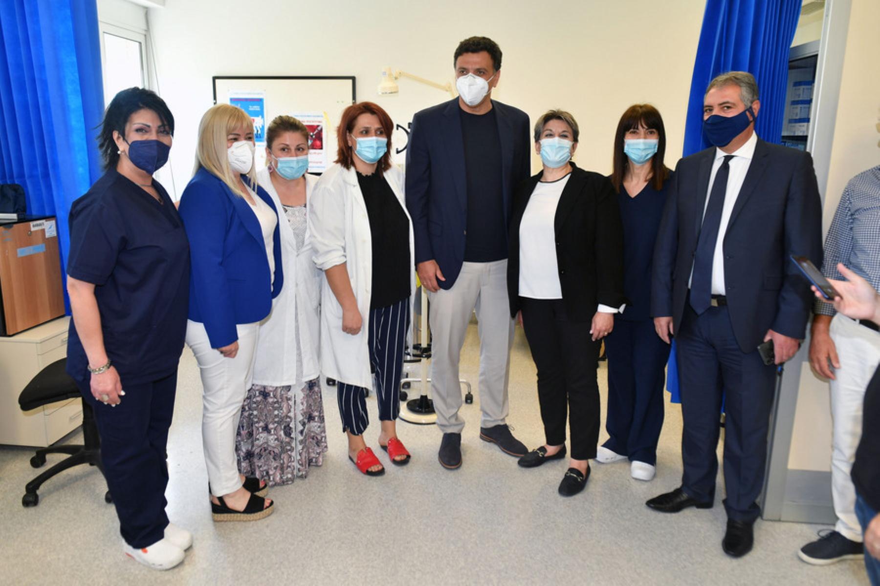 Κικίλιας από Καλαμάτα: Περαιτέρω αναβάθμιση όλων των κέντρων υγείας και περιφερειακών ιατρείων
