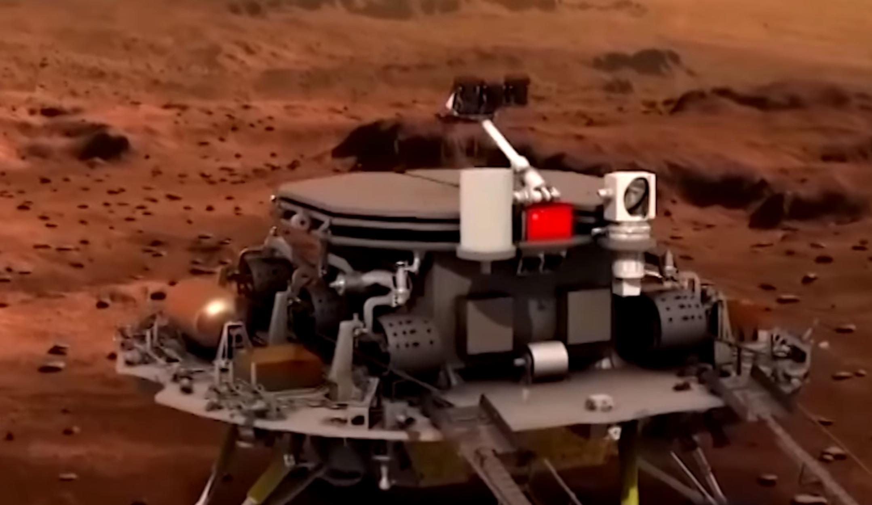 Η Κίνα έγραψε ιστορία! Προσεδαφίστηκε το Tianwen 1 στον Άρη