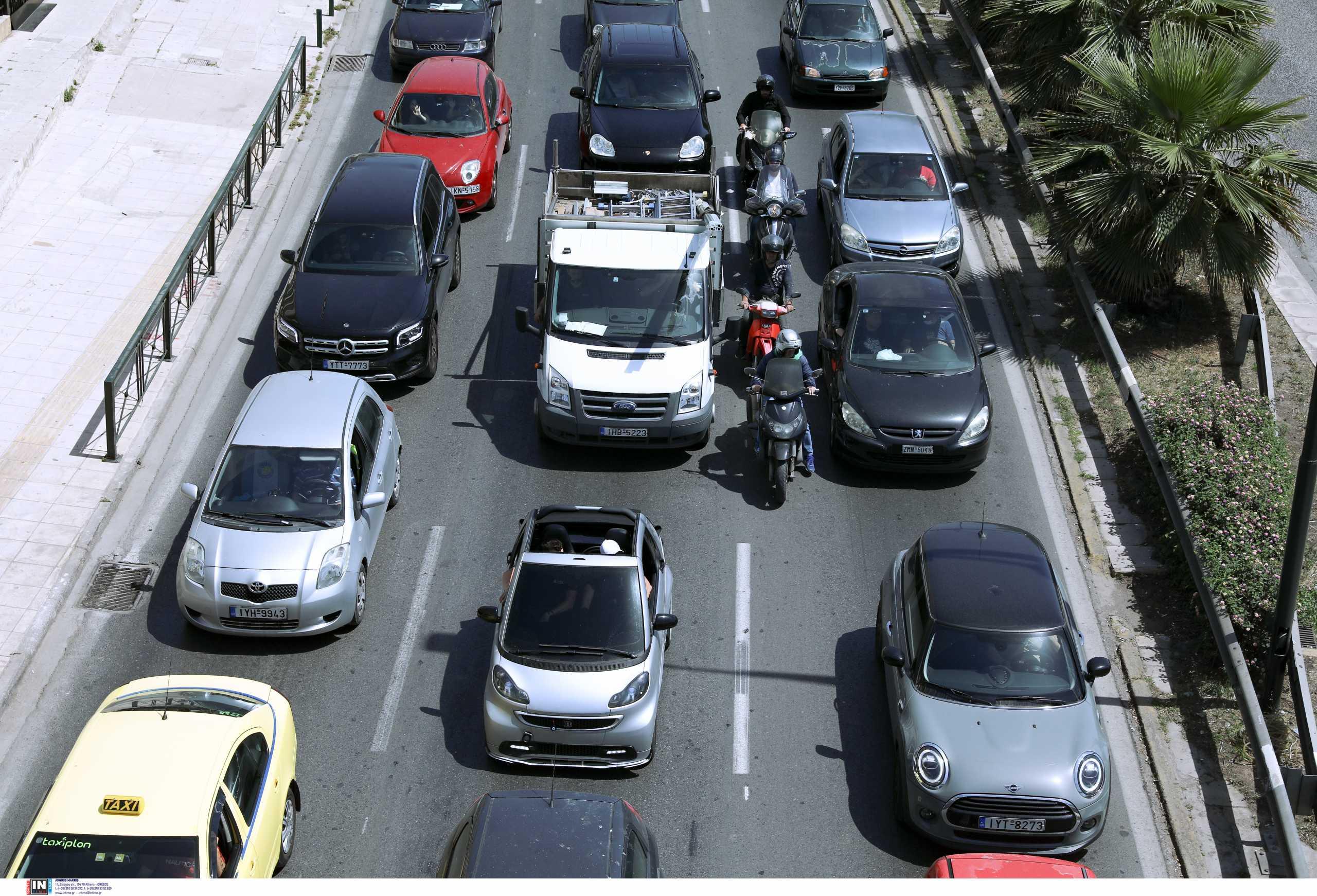 Αυξημένη η κίνηση στους δρόμους – Δείτε που έχει μποτιλιάρισμα (pic)