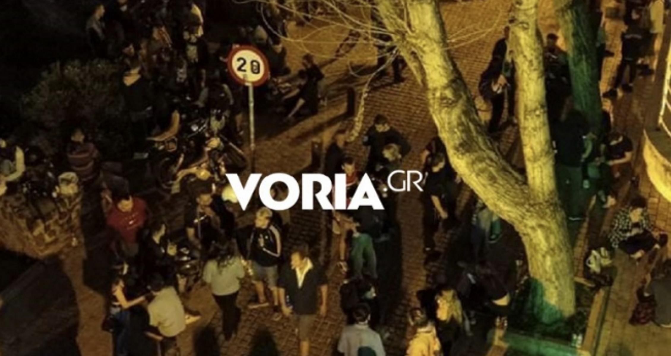 Μεταμεσονύχτια κορονοπάρτι στη Θεσσαλονίκη – «Νέο» στέκι η αρχαία ρωμαϊκή αγορά
