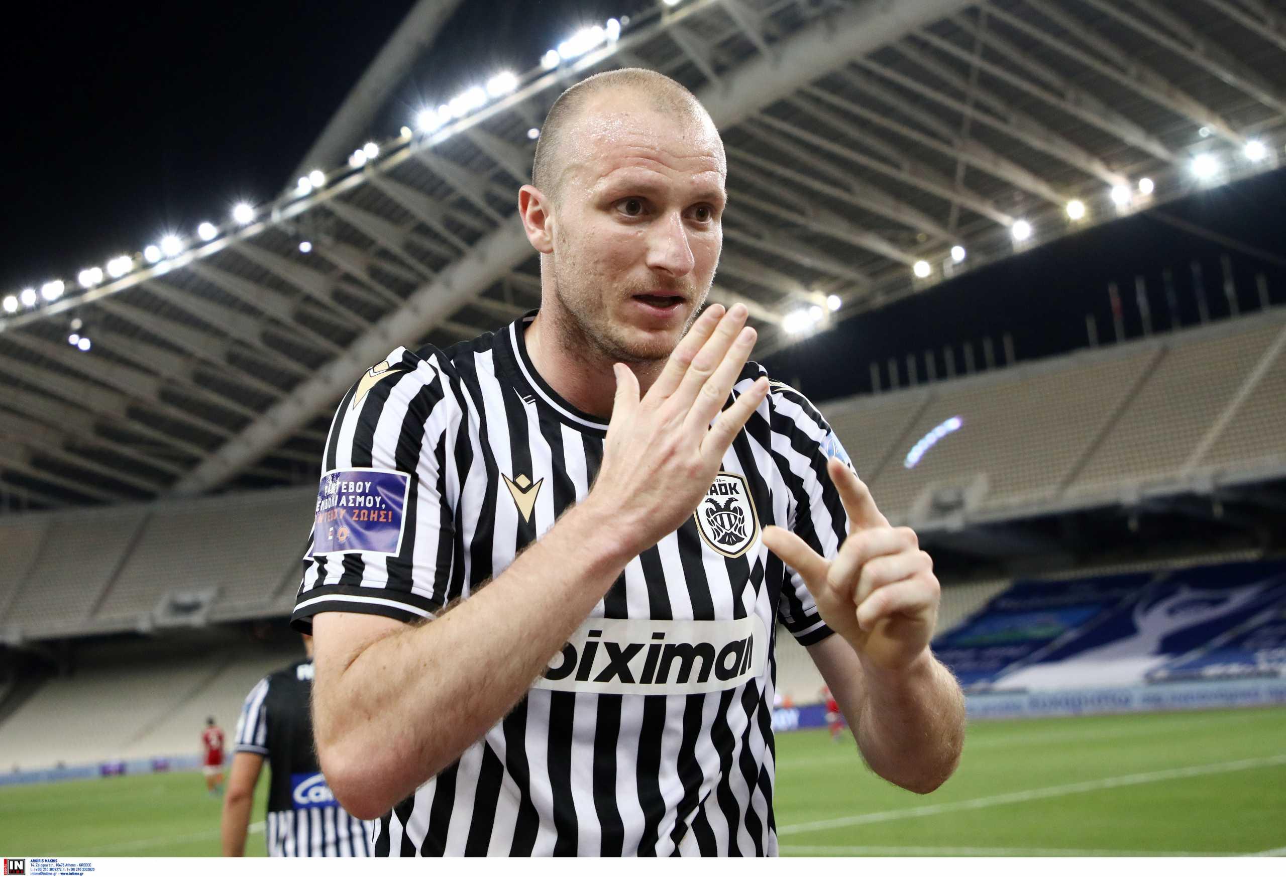ΠΑΟΚ – MVP ο Κρμέντσικ: «Είχα πει ότι θα φέρω το Κύπελλο στη Θεσσαλονίκη»