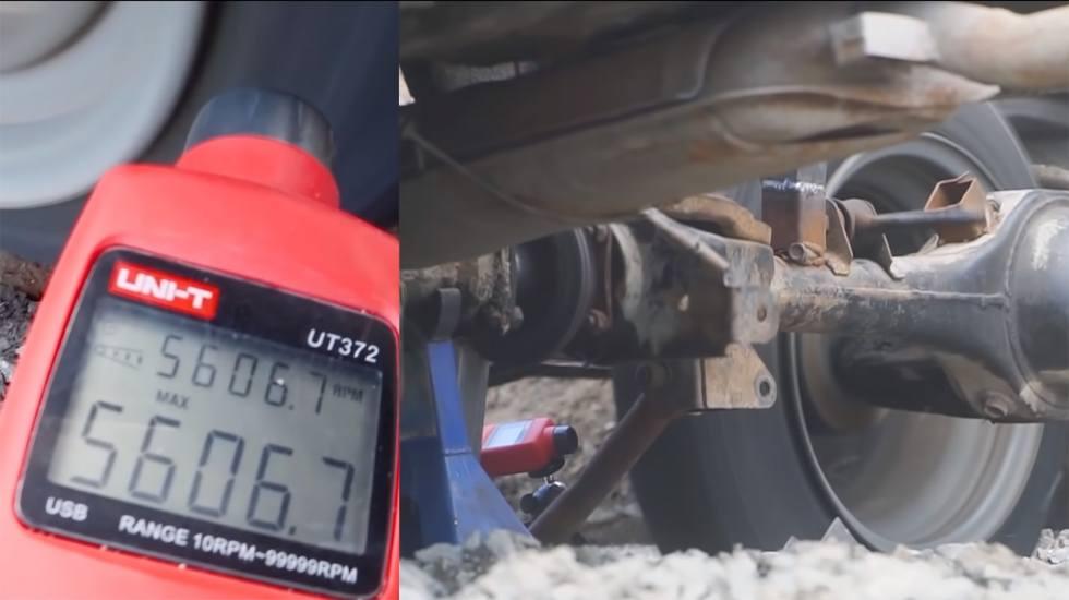 Τι παθαίνει ένα ελαστικό όταν με… ένα Lada πιάνει 620 km/h; (video)