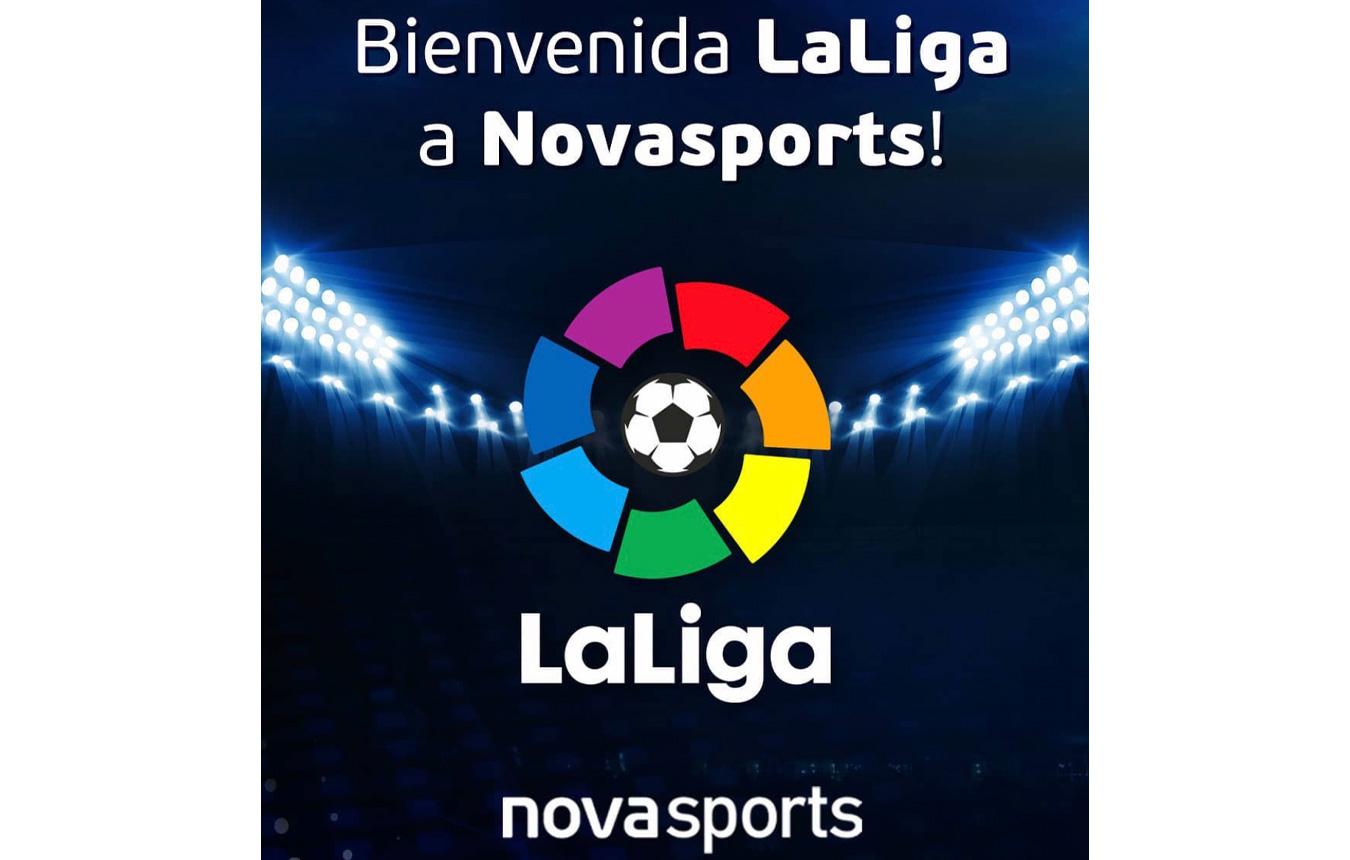 Το ισπανικό πρωτάθλημα ποδοσφαίρου παίζει στη Novasports