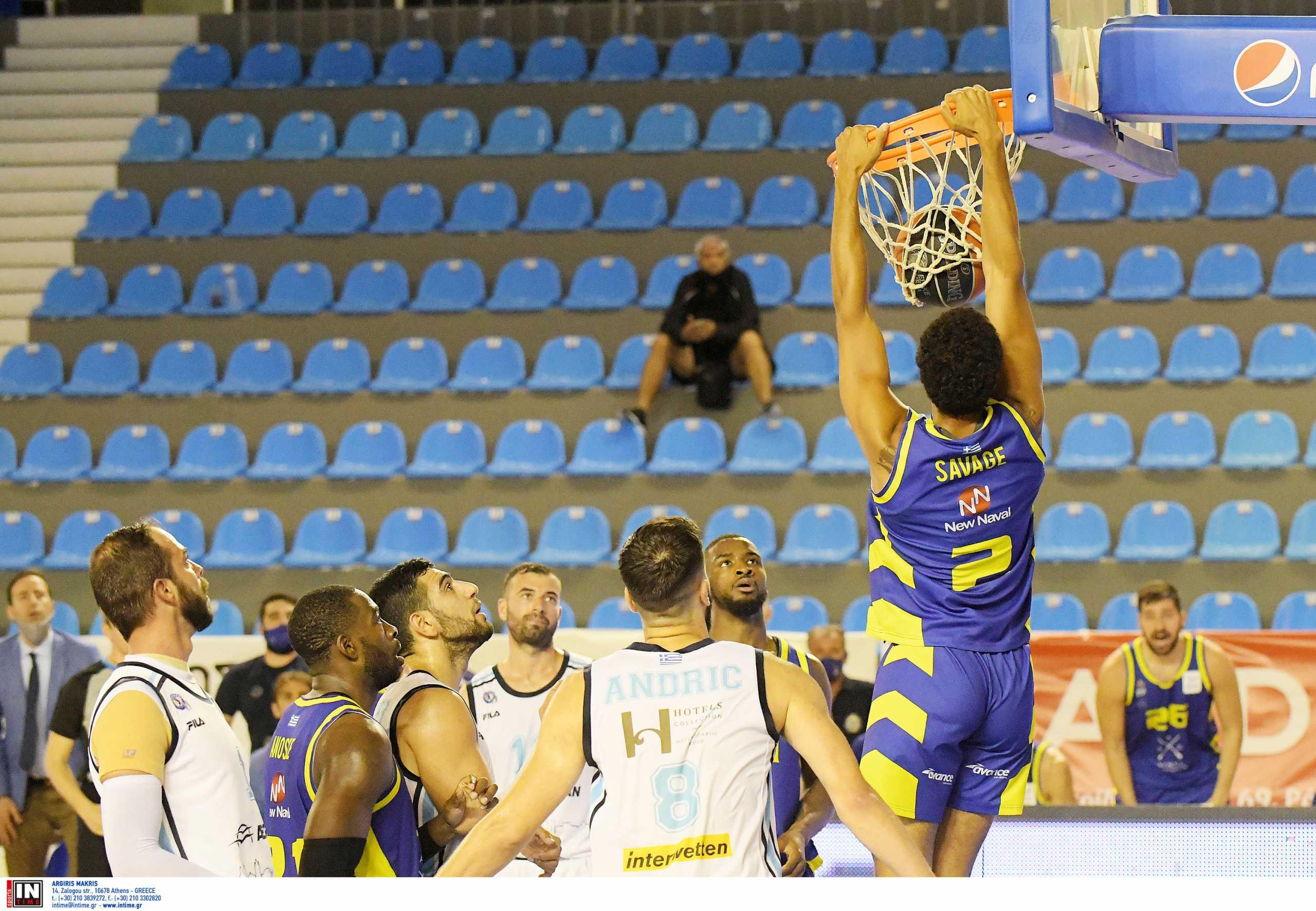 Basket League: Το Λαύριο νίκησε ξανά τον Κολοσσό και προκρίθηκε στα ημιτελικά