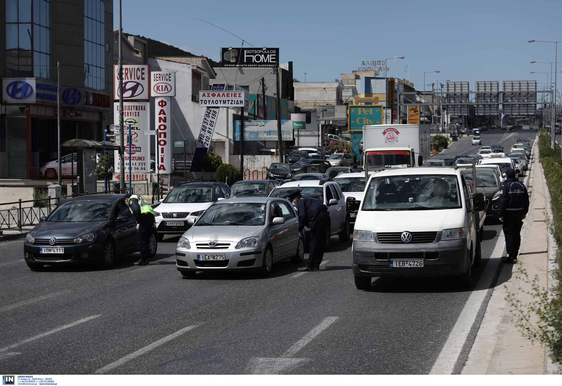 Λεωφόρος Μαραθώνος: Κλειστή από τη Δευτέρα λόγω έργων στο ύψος του φράγματος
