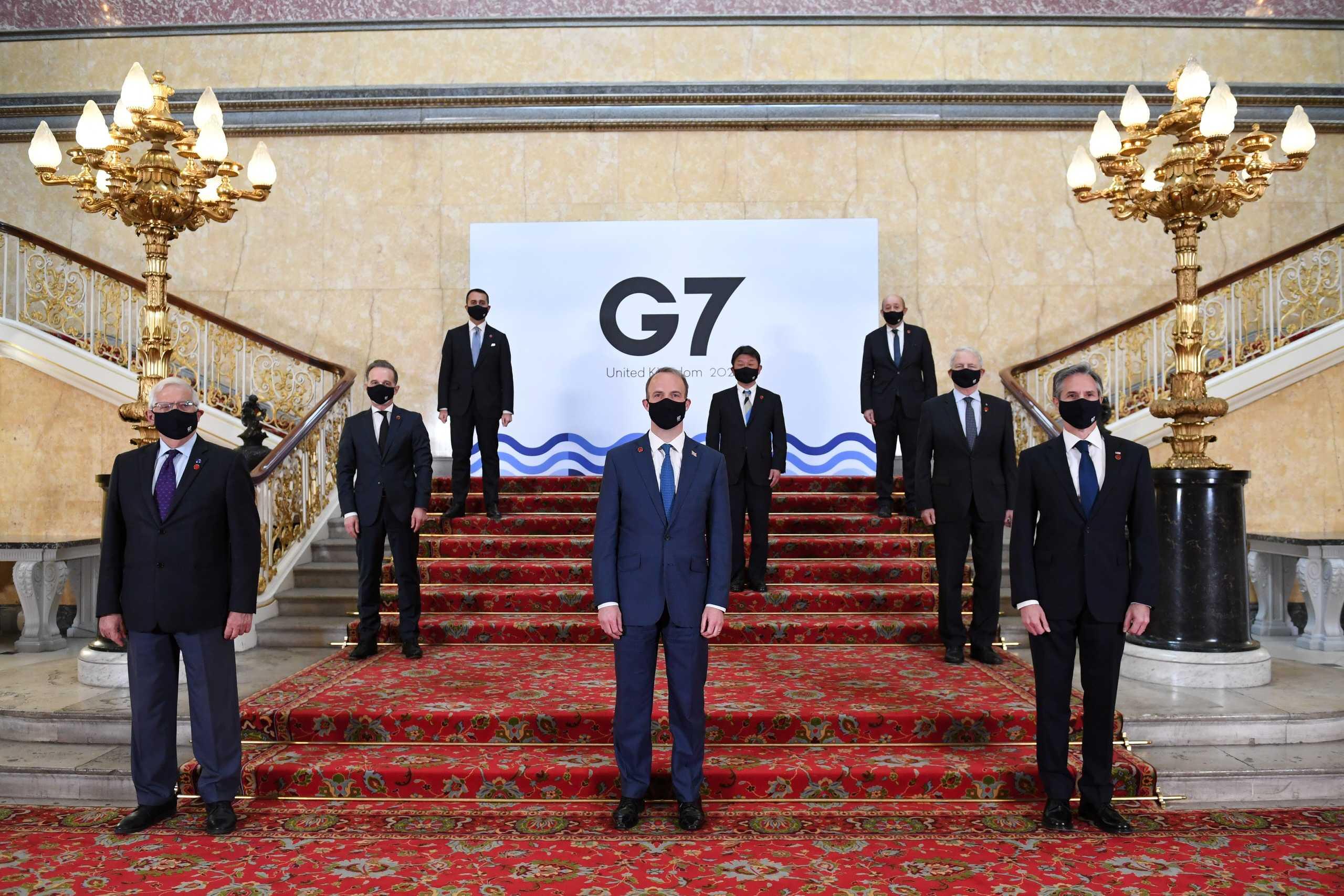 G7: Οι αυξανόμενες απειλές Ρωσίας και Κίνας στη ατζέντα των συζητήσεων