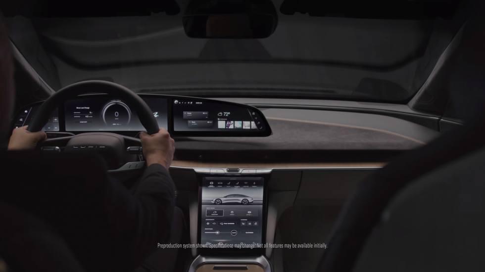 To ηλεκτρικό αυτοκίνητο της Lucid έχει ένα από τα πιο εντυπωσιακά εσωτερικά (video)