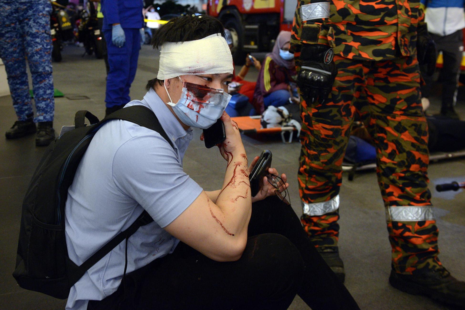 Σοκαριστική σύγκρουση συρμών του μετρό στην Κουάλα Λουμπούρ – Πάνω από 200 τραυματίες (video)