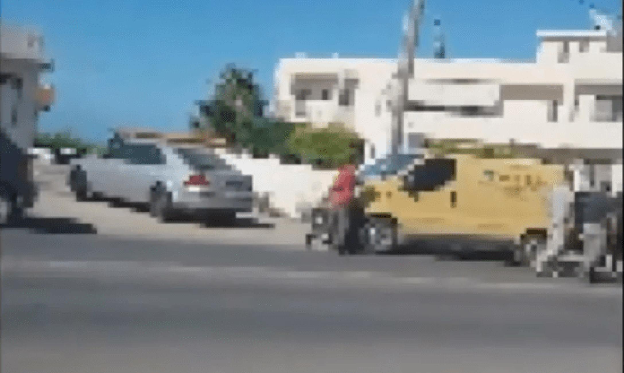 Μάλια: Έβγαλαν τα τσεκούρια και άρχισαν να τσακώνονται στη μέση του δρόμου