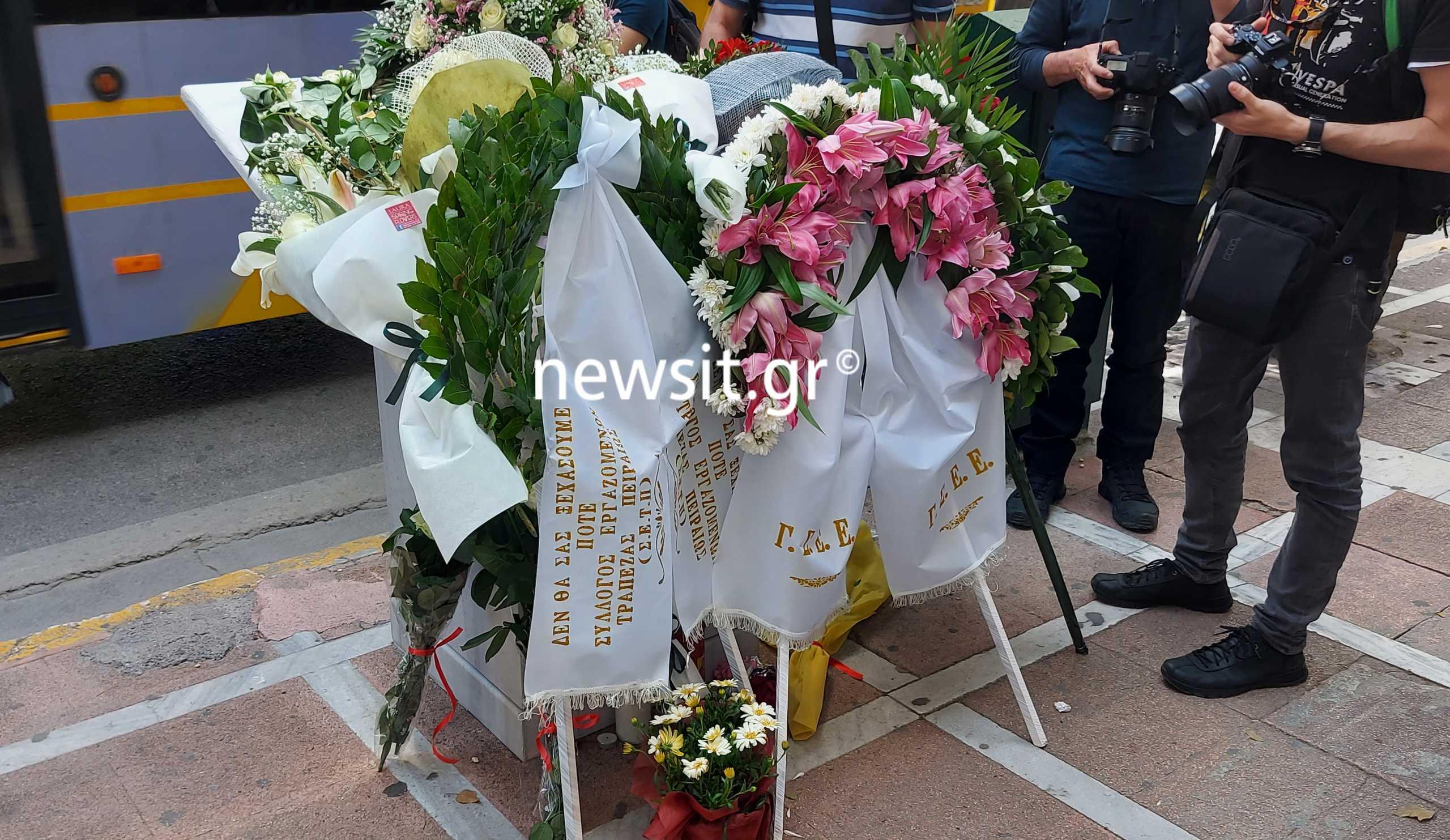Marfin: Η Μαρία Καραγιάννη επέστρεψε στον τόπο της τραγωδίας (pics, video)