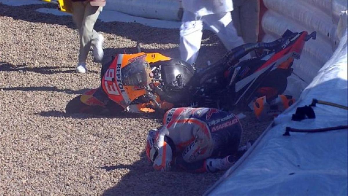 Moto GP: Σοκαριστικό ατύχημα για Μάρκεθ