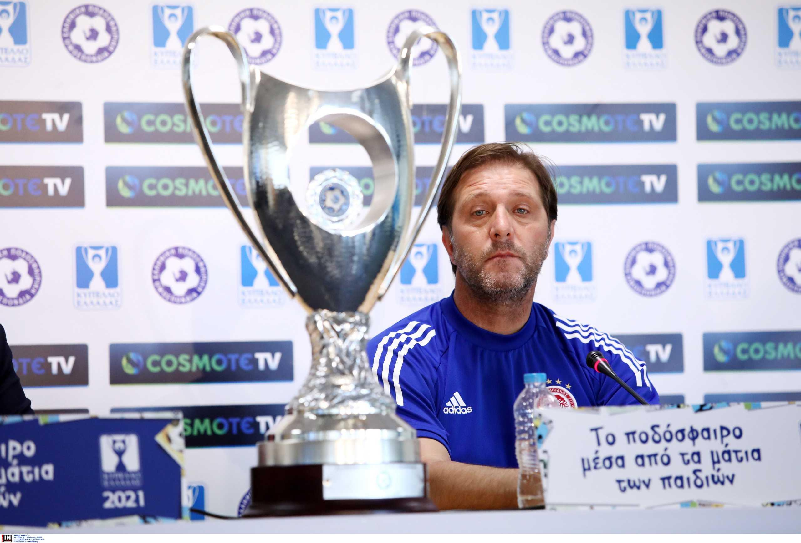 Κύπελλο Ελλάδας: «Διαθέσιμοι Σωκράτης και Ελ Αραμπί για τον τελικό» είπε ο Μαρτίνς