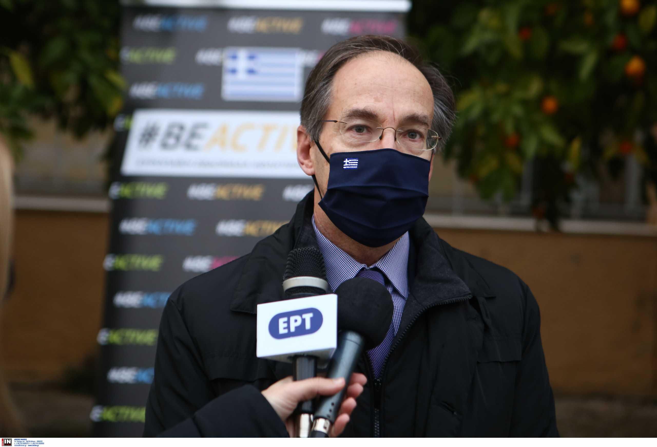 Μαυρωτάς: «Όσοι έχουν εμβολιαστεί δε χρειάζονται τεστ για τους αγώνες»