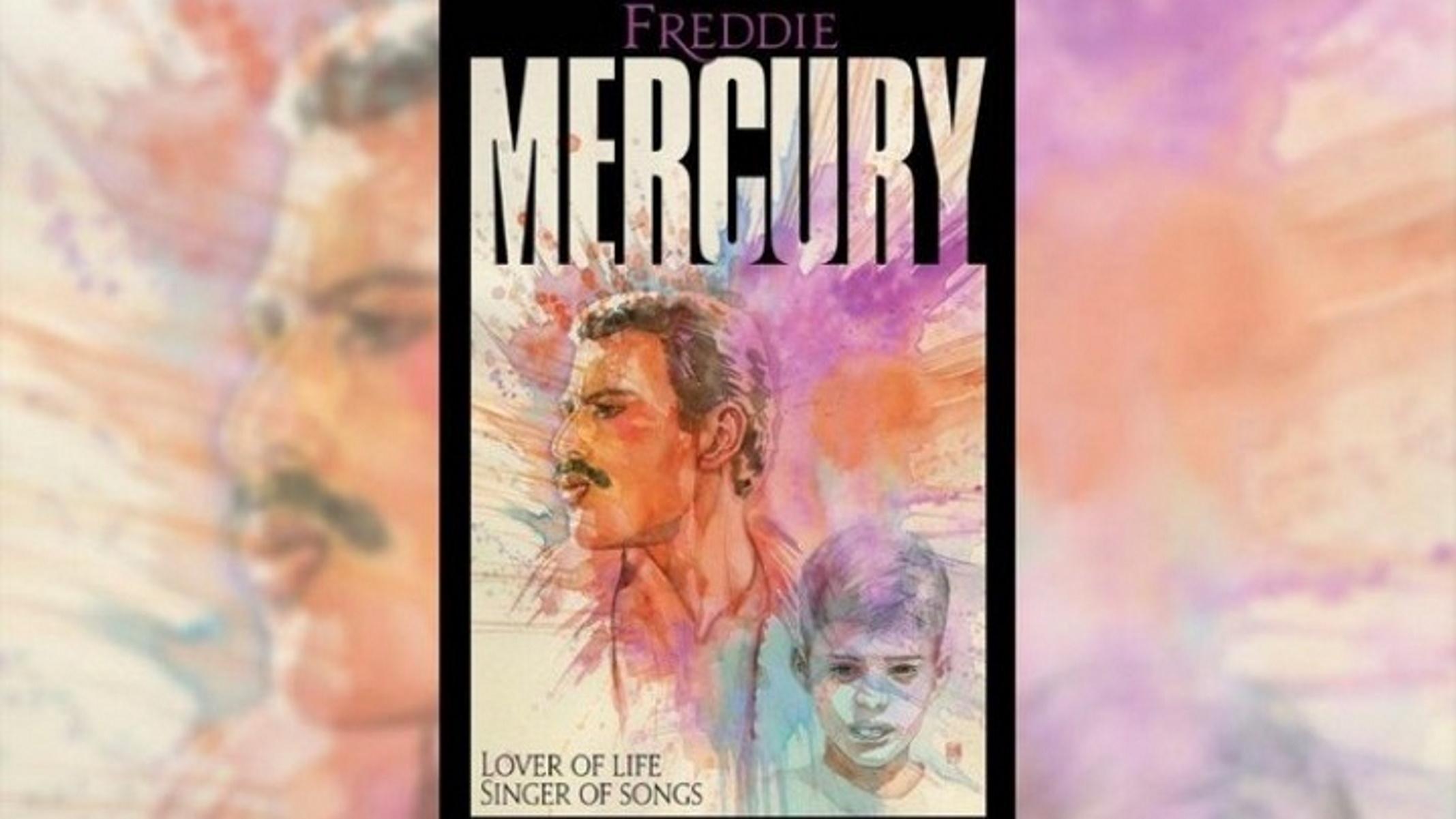 Φρέντι Μέρκιουρι: Κόμικ αφηγείται τη ζωή του θρυλικού αρχηγού των Queen (pics, vid)