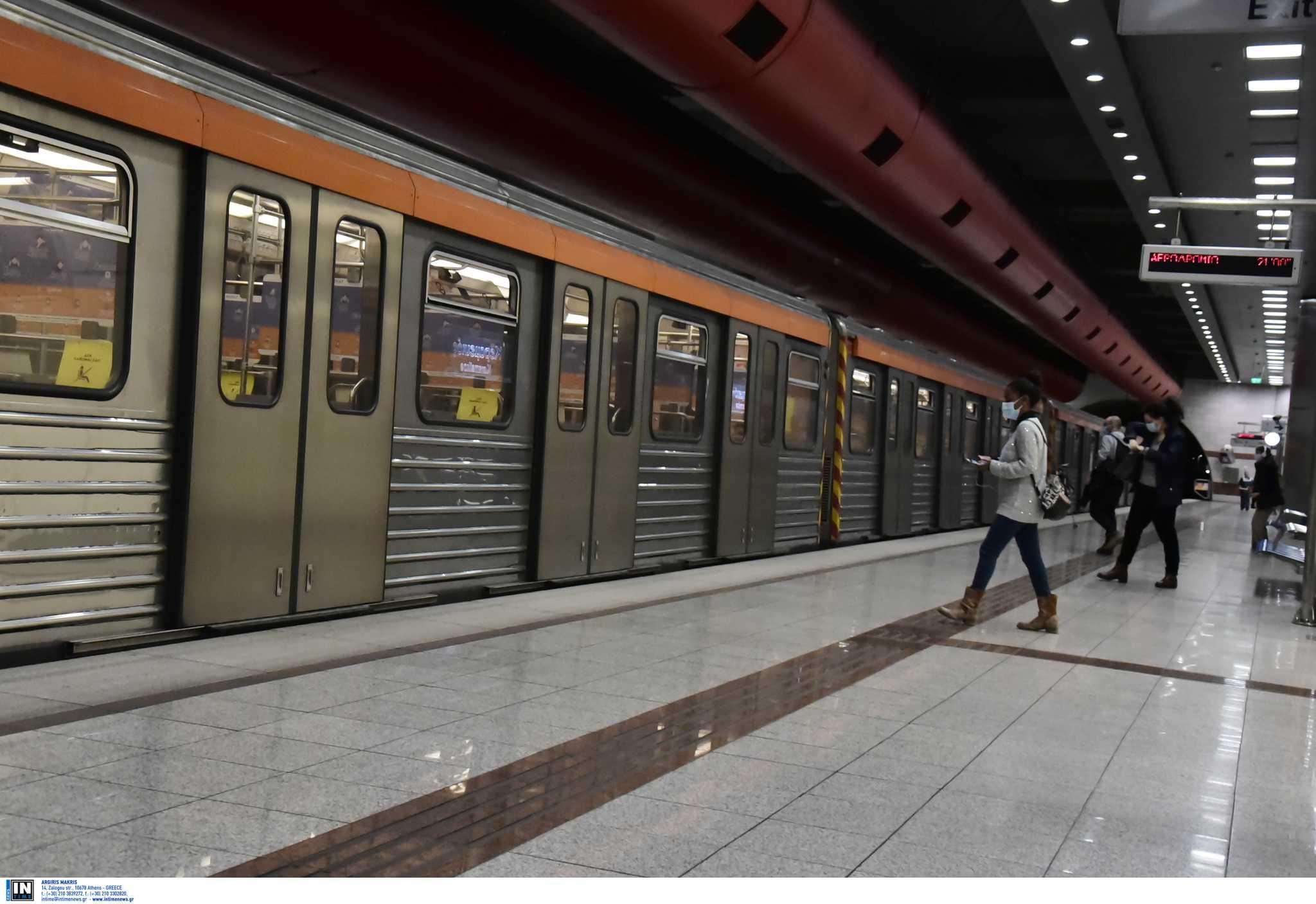 Μετρό: Με εντολή της Αστυνομίας έκλεισε ο σταθμός Μεταξουργείο