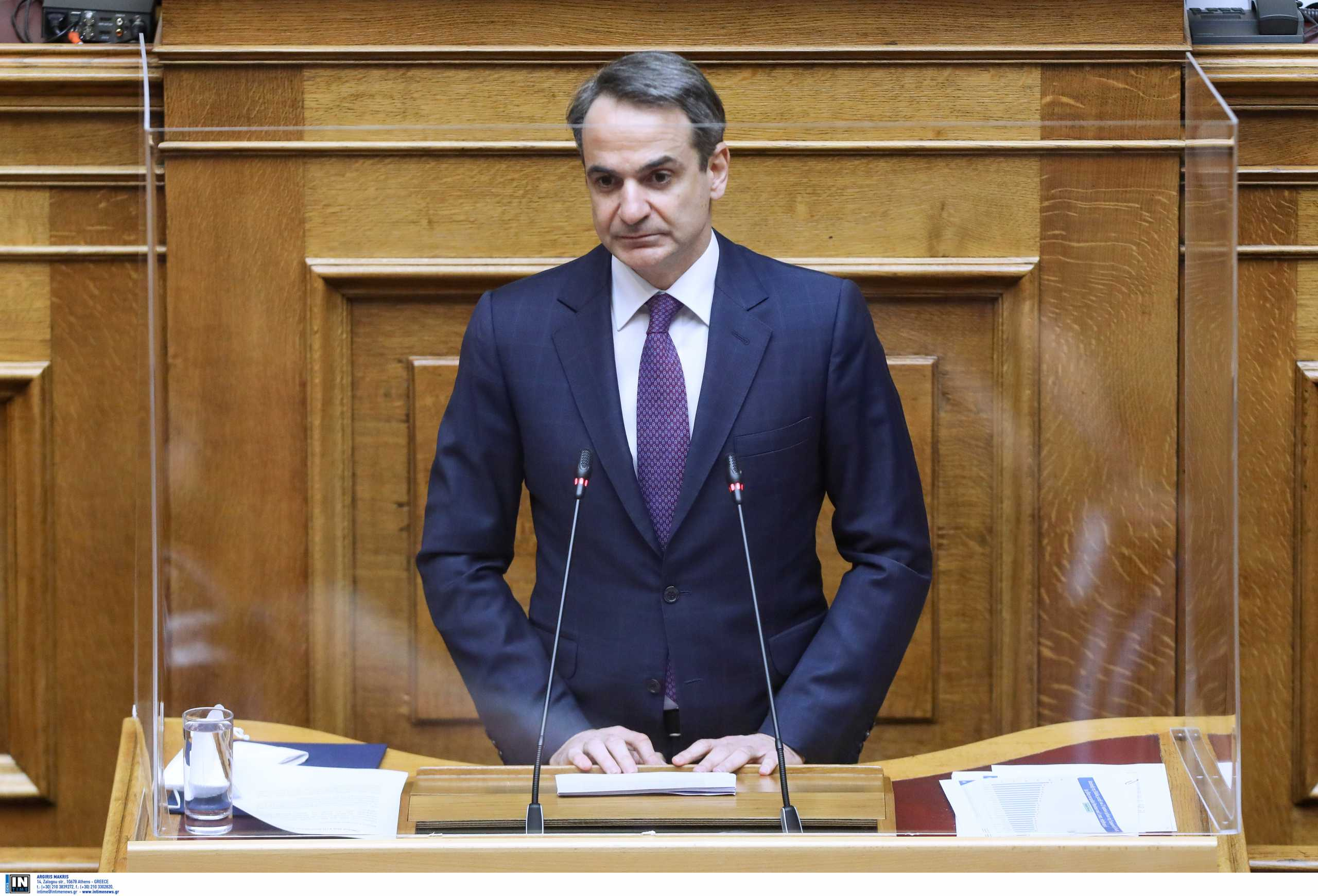 Βουλή: Η ομιλία του πρωθυπουργού για την μετάβαση σε μια κλιματικά ουδέτερη οικονομία