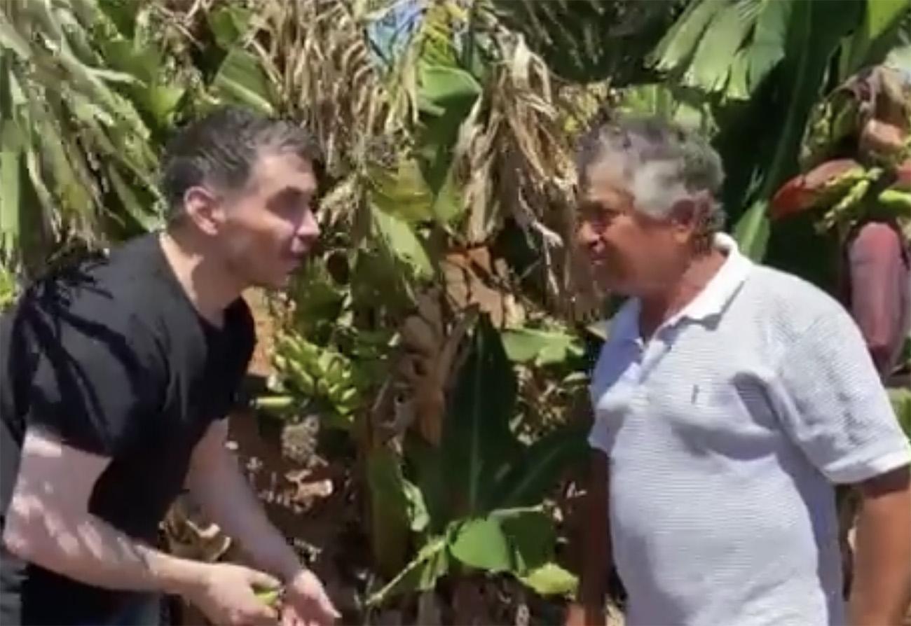 Μιχάλης Χατζηγιάννης: Το σπάνιο βίντεο με τον πατέρα του στο κτήμα του