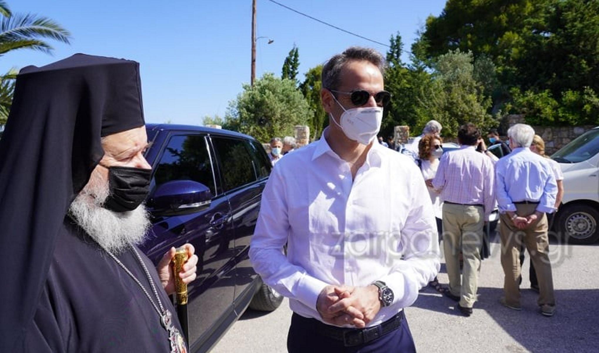 Χανιά: Παρουσία του Πρωθυπουργού το μνημόσυνο για τα τέσσερα χρόνια από τον θάνατο του Κωνσταντίνου Μητσοτάκη (pics, vid)