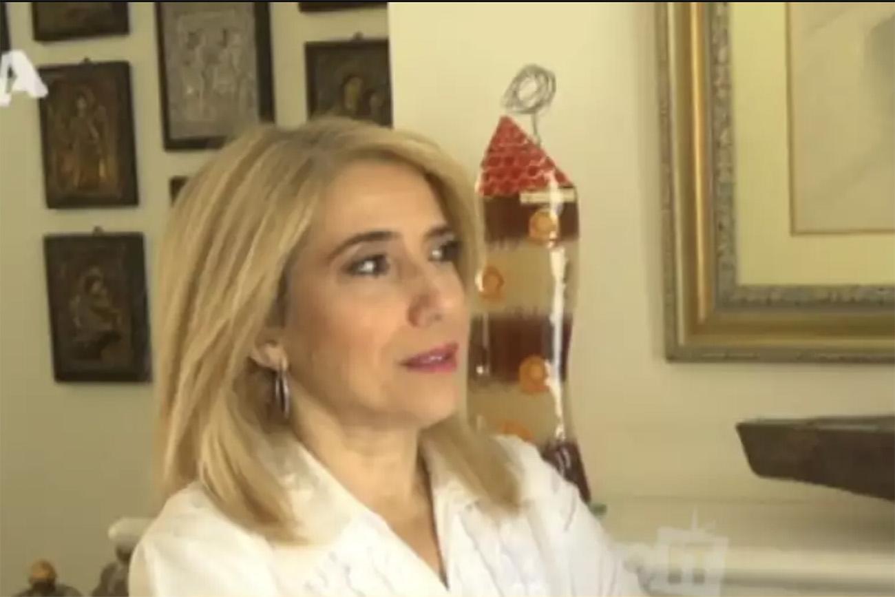 """Νάσια Κονιτοπούλου: """"Με ταρακούνησε ο γιος μου που μου είπε είσαι σαν άρρωστη"""""""