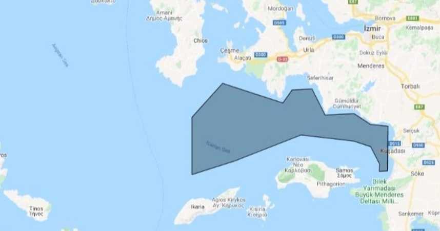 Δείτε τη NAVTEX που εξέδωσε η Τουρκία για έρευνες στο Αιγαίο ενόψει της επίσκεψης Τσαβούσογλου