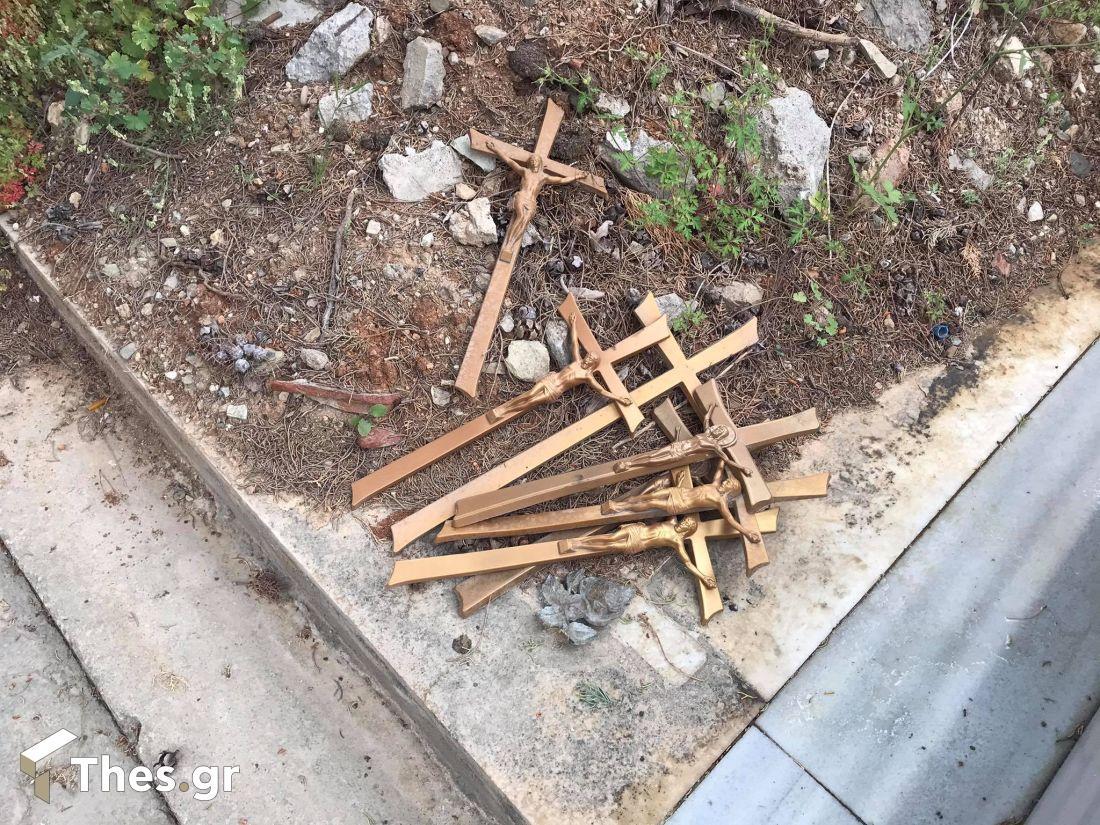 Θεσσαλονίκη: Ανατριχίλα σε νεκροταφεία της Ευκαρπίας – Πάγωσαν όταν μπήκαν στα ενδότερα (video)