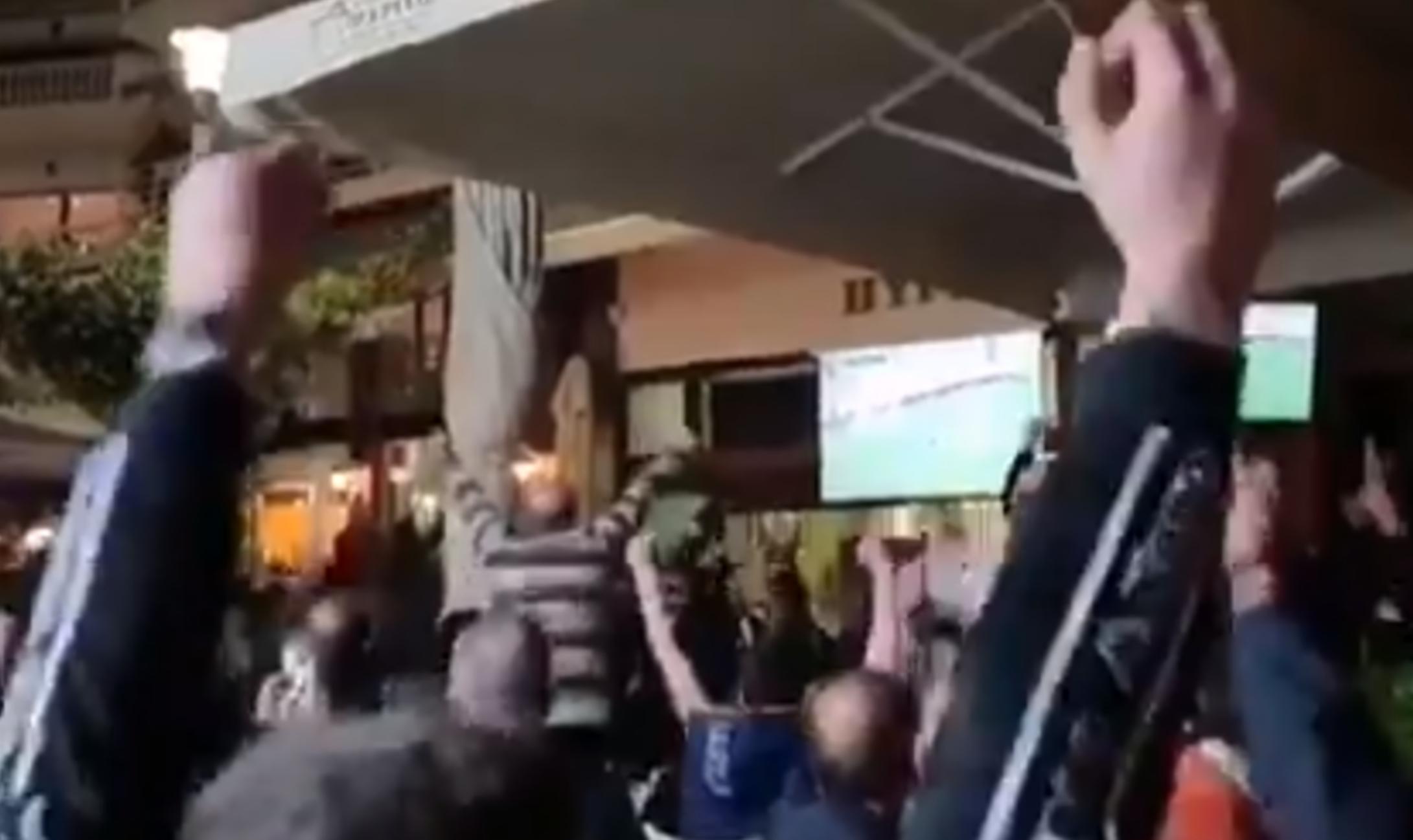 Ολυμπιακός – ΠΑΟΚ: Έτσι πανηγύρισαν το γκολ στη Θεσσαλονίκη