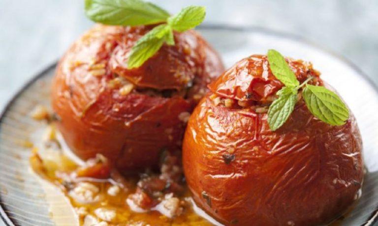 Μοναστηριακή συνταγή για ντομάτες  γεμιστές χωρίς ρύζι!