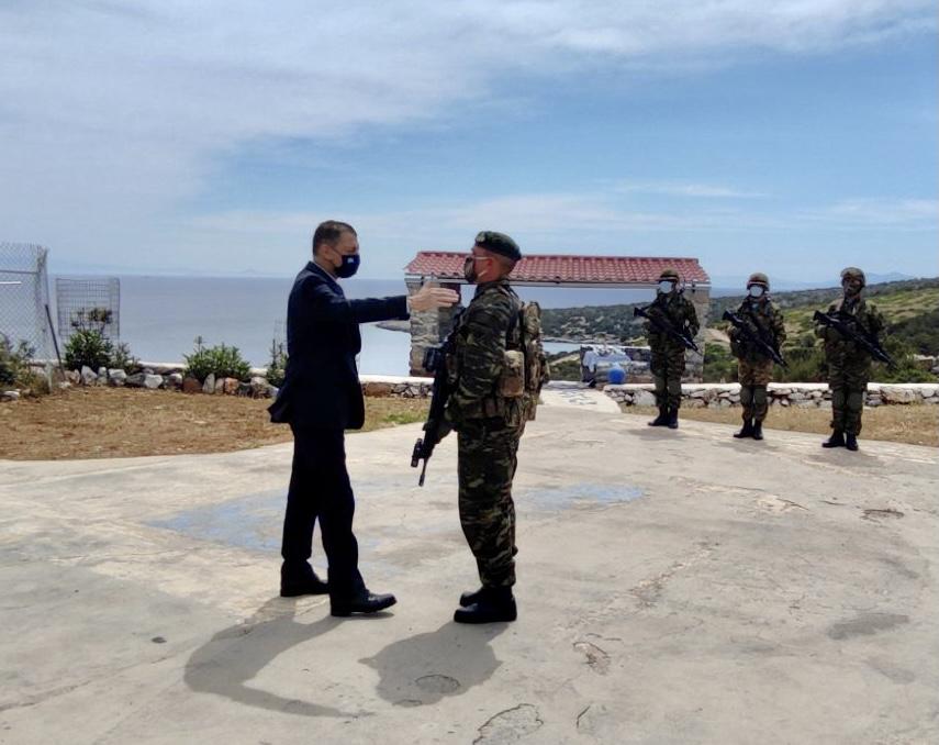 Σε Κω και Φαρμακονήσι βρέθηκε ο Υφυπουργός Εθνικής Άμυνας Αλκιβιάδης Στεφανής