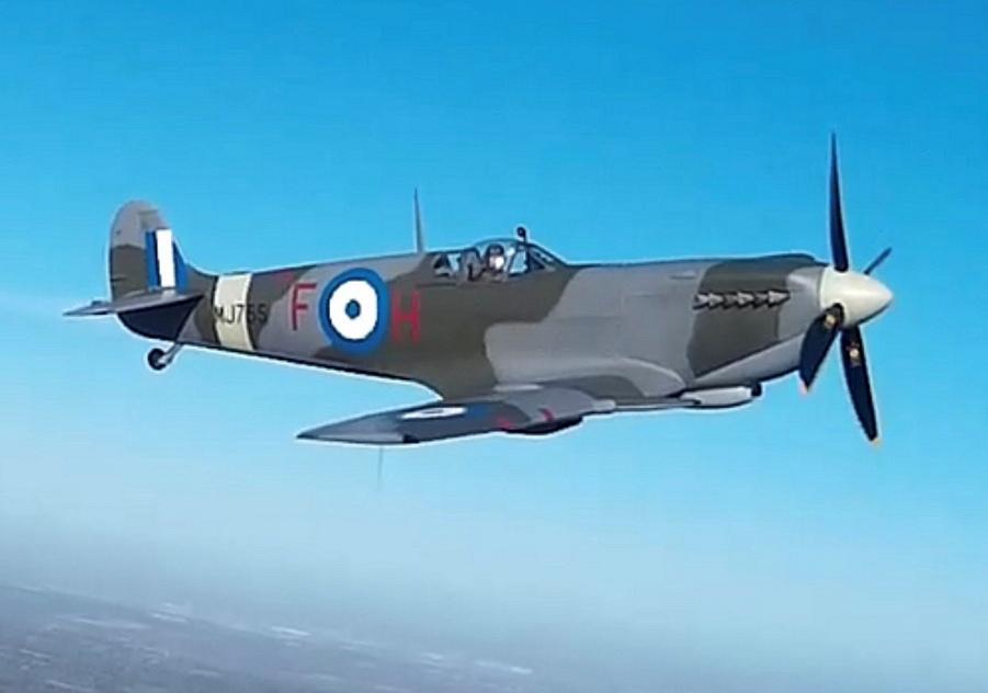 Spitfire MJ755: Την Τρίτη η υποδοχή του ιστορικού καταδιωκτικού στην βάση Δεκέλειας!