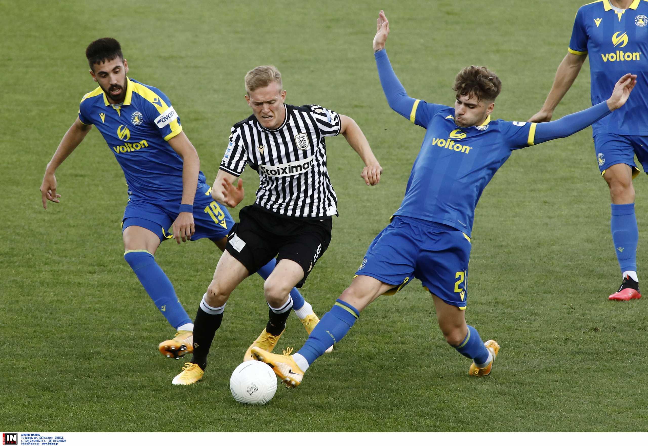 ΠΑΟΚ – Αστέρας Τρίπολης 0-1 ΤΕΛΙΚΟ