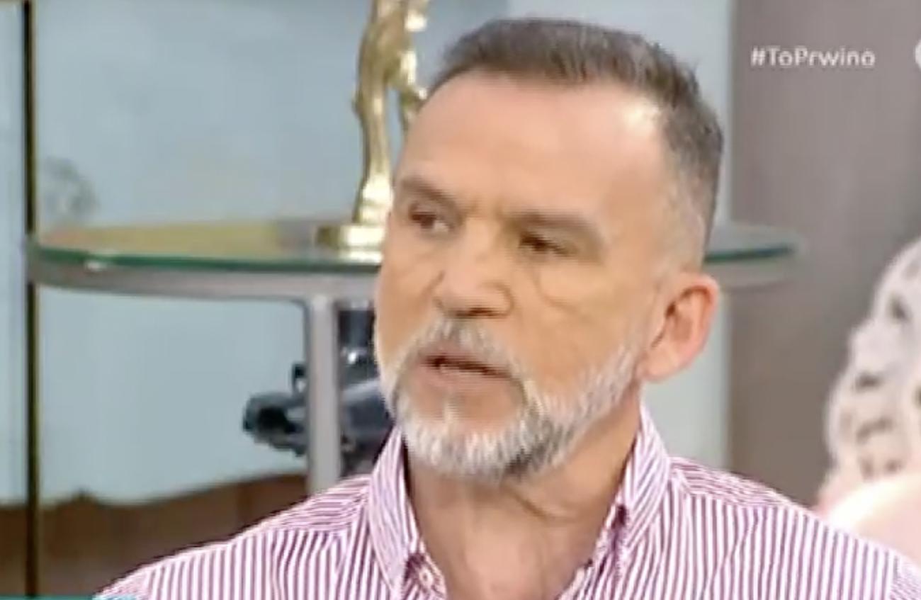 Πάνος Μεταξόπουλος: Η εξομολόγηση για το σοβαρό πρόβλημα υγείας