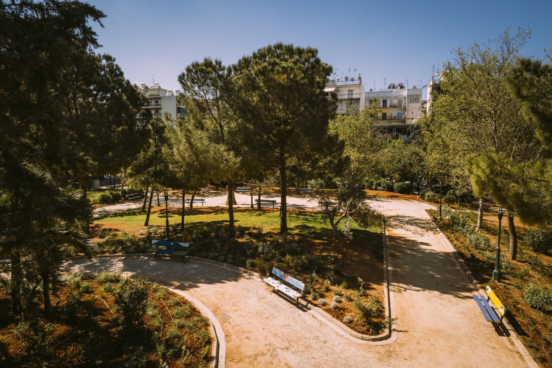 «Ανάσα» πρασίνου το νέο πάρκο Φιξ – Έγινε αγνώριστο (pics)