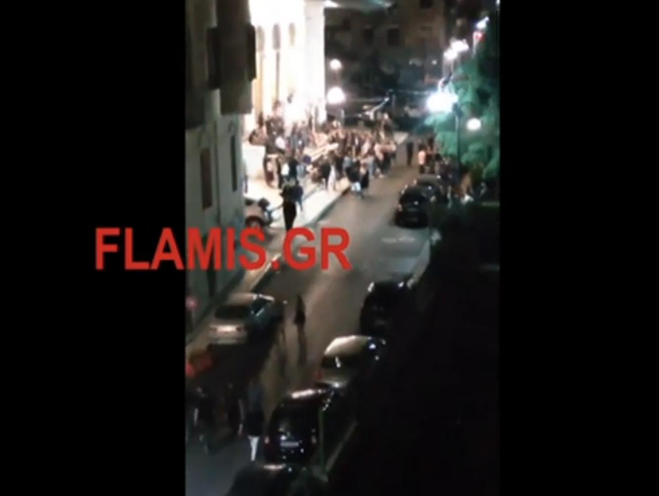 Πάτρα: Κορονοπάρτι στα σκαλιά εκκλησίας – Το αδιαχώρητο στην Παντάνασσα (video)