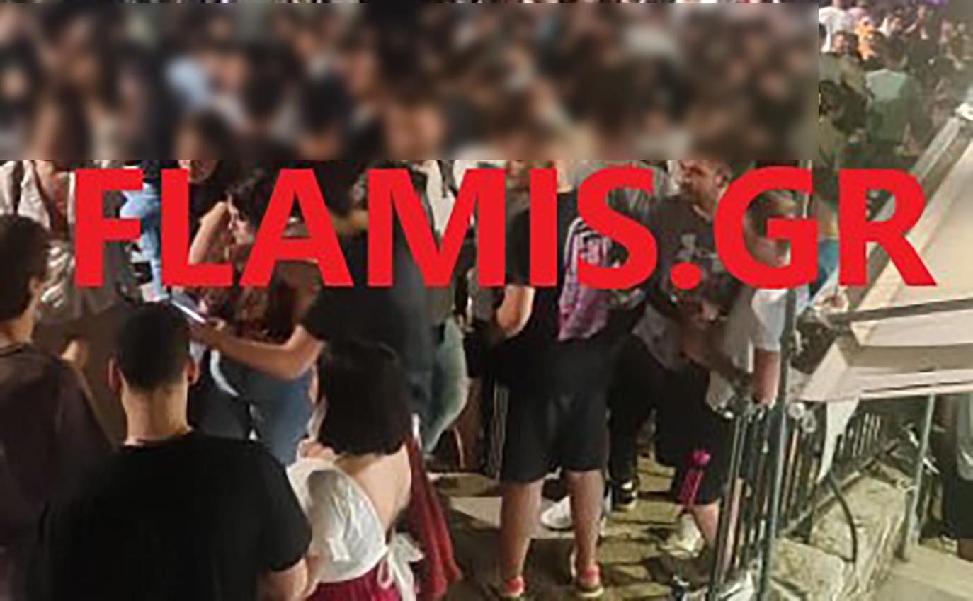 Χαμός ξανά στην Πάτρα: Συνωστισμός και πάρτι στα 100 μέτρα από την Αστυνομία