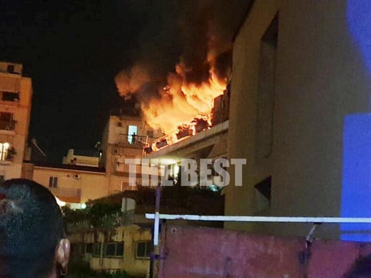 Κόλαση φωτιάς σε διαμέρισμα στην Πάτρα