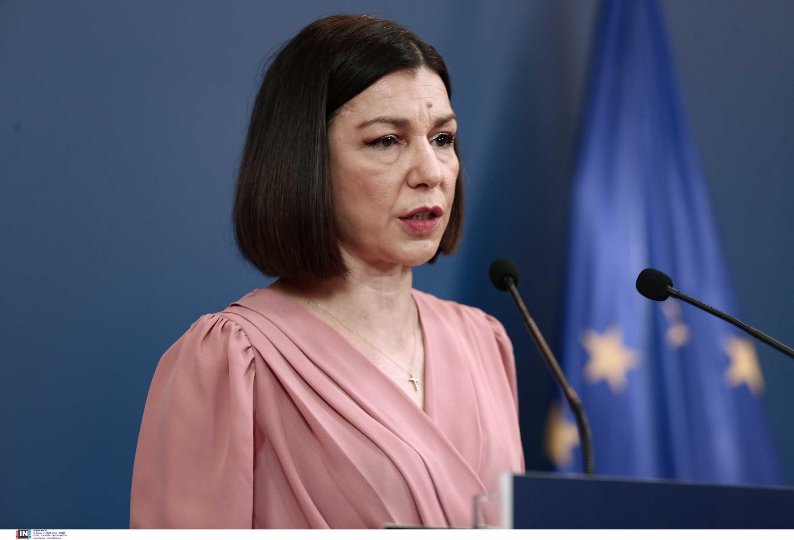 Αριστοτελία Πελώνη: «Η ρητορική Ερντογάν αντιβαίνει στις αποφάσεις για την επίλυση του Κυπριακού»