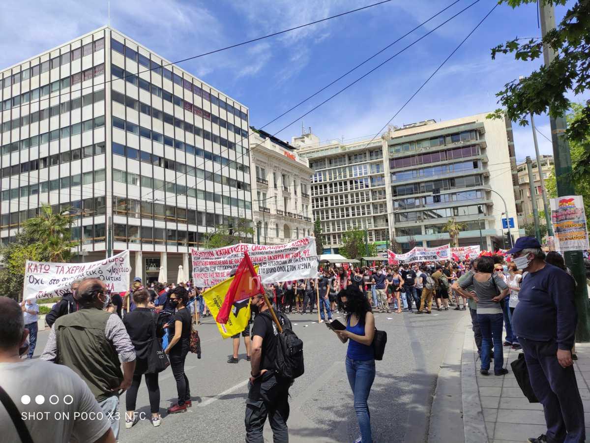 Απεργία ΑΔΕΔΥ: Συγκέντρωση στο κέντρο της Αθήνας (pics)