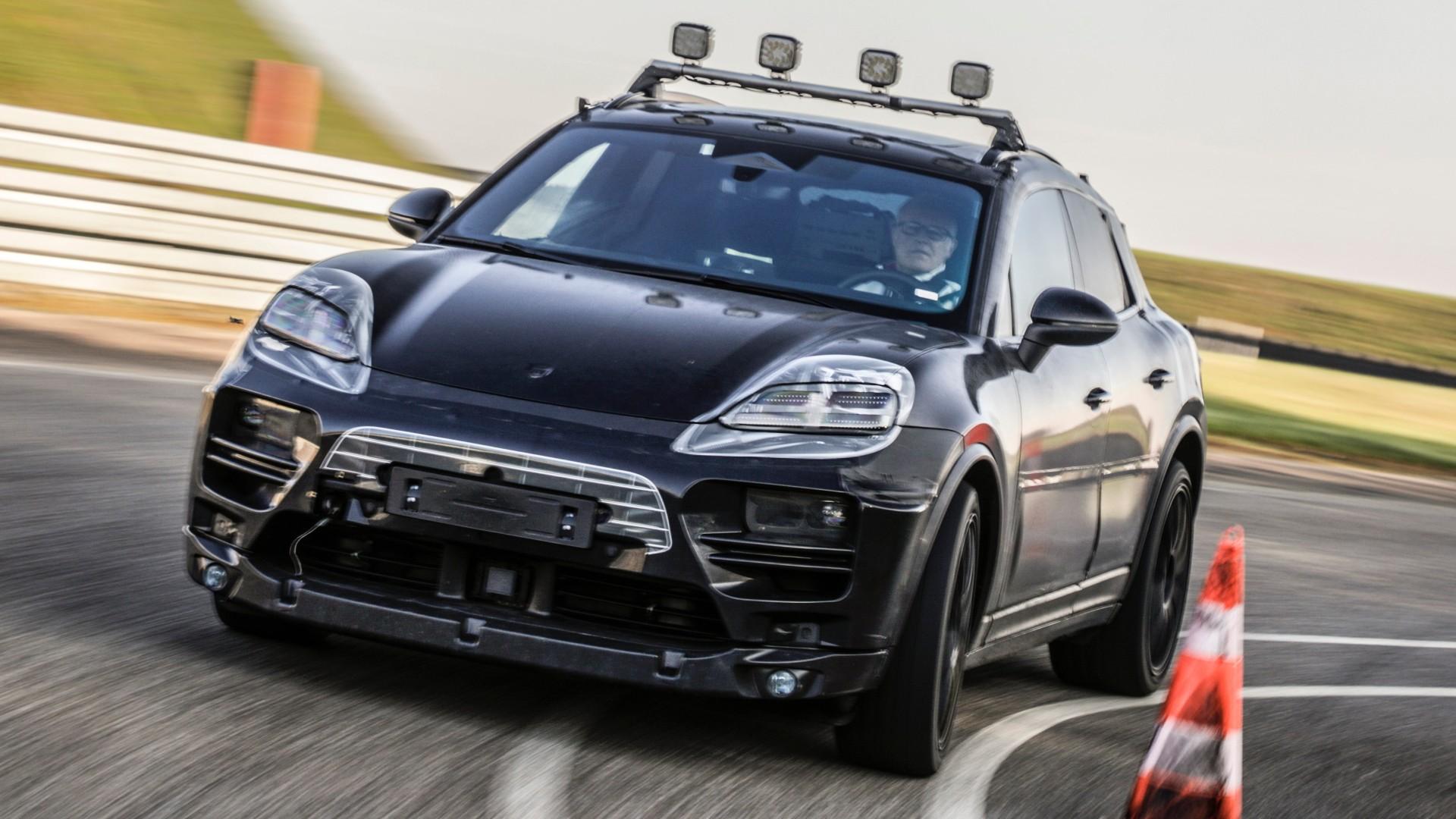 H Porsche ξεκίνησε τις δοκιμές εξέλιξης της ηλεκτρικής Macan (pics)