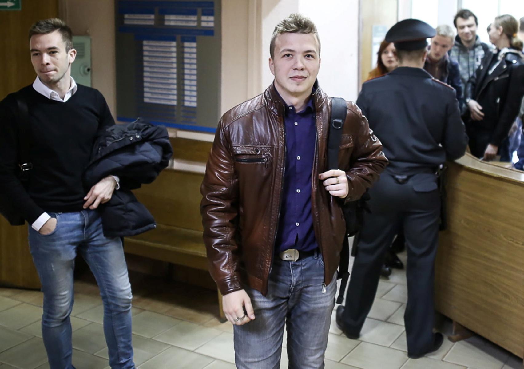 Πτήση Ryanair: Αυτός είναι ο δημοσιογράφος που συνελήφθη στο Μινσκ