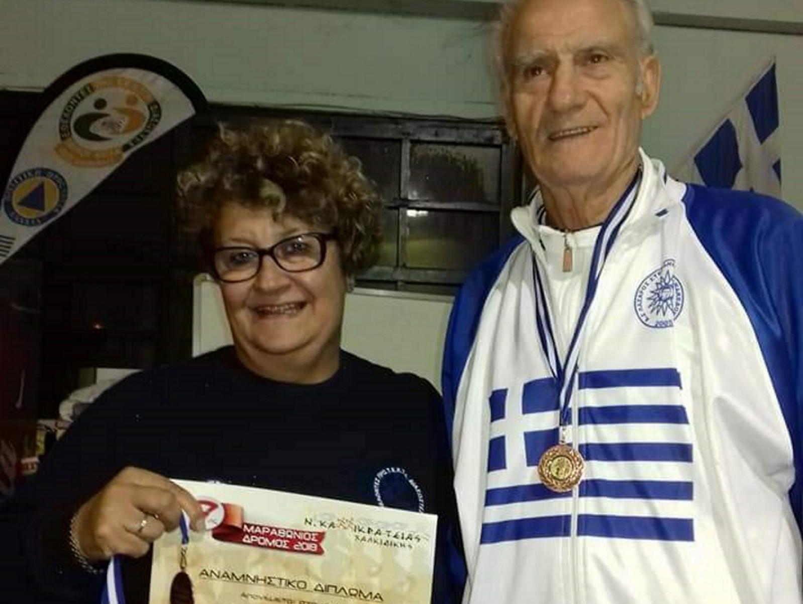 Πρωταθλητής ετών 80 – Χρυσά μετάλλια στον στίβο και τον εθελοντισμό (pics)